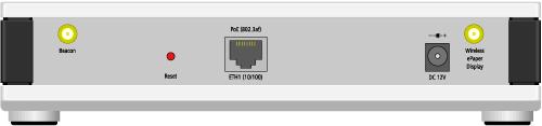 Abbildung Rückseite LANCOM L-151E Wireless
